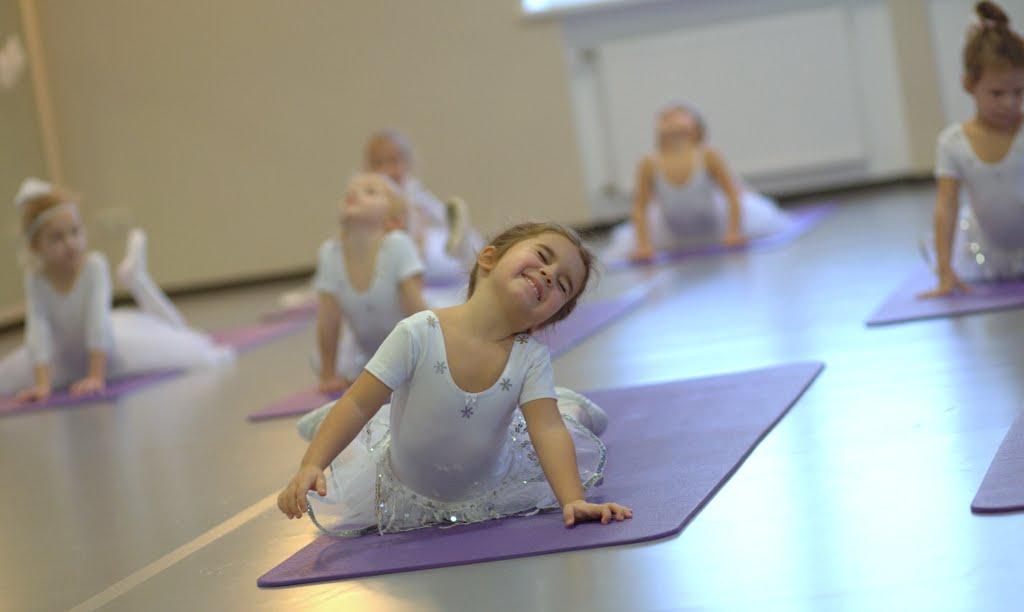 Занятия в балетной школы Илзе Лиепы, недалеко от КП Елочка