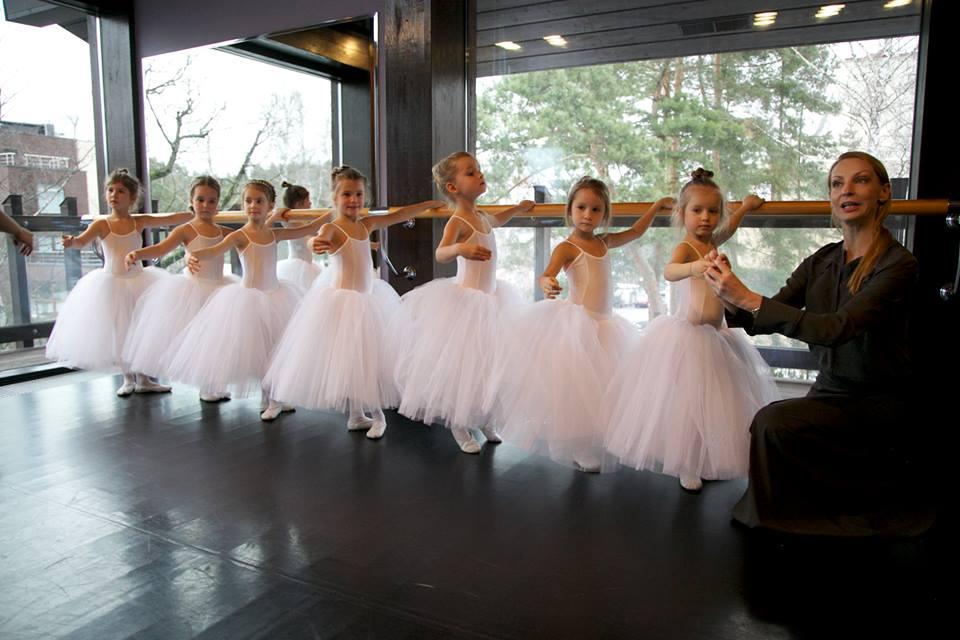 Балетный класс Илзе Лиепы, недалеко от КП Елочка