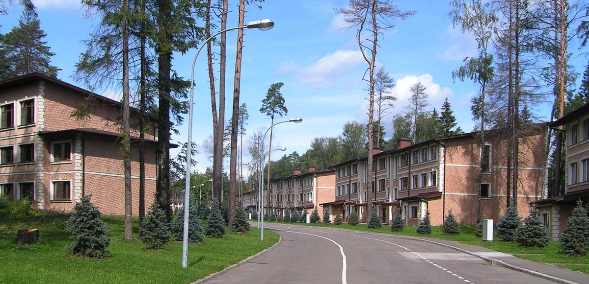 Улица поселка Елочка