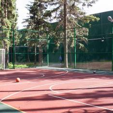 Площадка для игр в футбол и баскетбол, КП Елочка